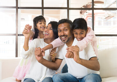 Mortgage-for-happy-Indian-family